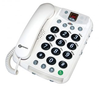 CL210A Corded Big Button Phone