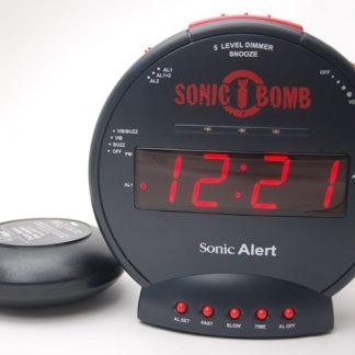 Geemarc Sonic Bomb Alarm Clock SBB500SS