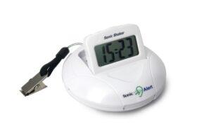 Geemarc Sonic Shaker Travel Alarm Clock SBP100SS