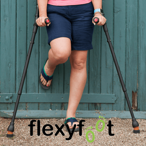 Flexyfoot Closed Cuff Soft Standard Grip Crutch