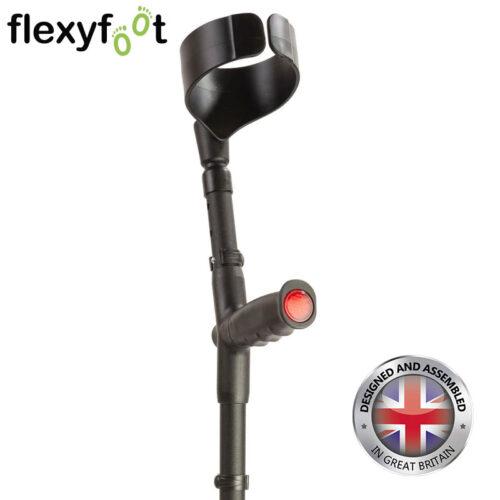 flexyfoot-closed-cuff-soft-standard-grip-crutch black