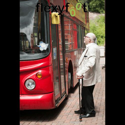 Flexyfoot Folding Walking Sticks Bus
