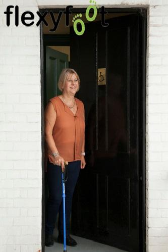 Flexyfoot Folding Walking Sticks Door
