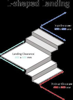 L-Shaped Landing 600 x 600