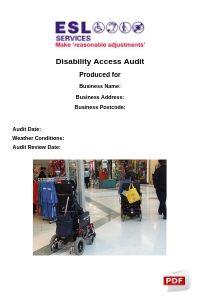 Disability Access Audit Report