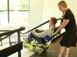 Evacuation Chair & Stair Climber Training