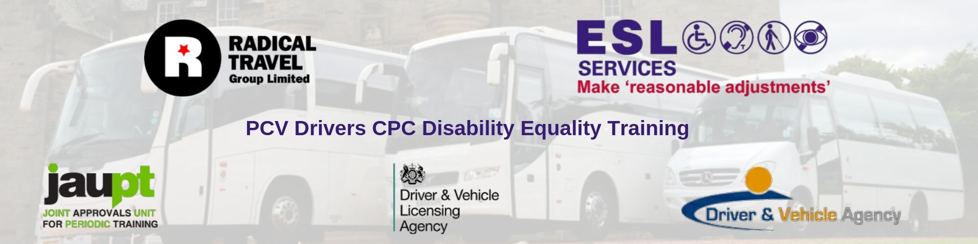 PCV Drivers CPC Disability Equality Training Course