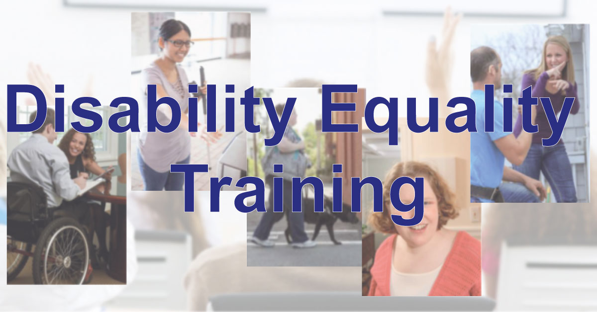 Disability Equality Training (DET) Course