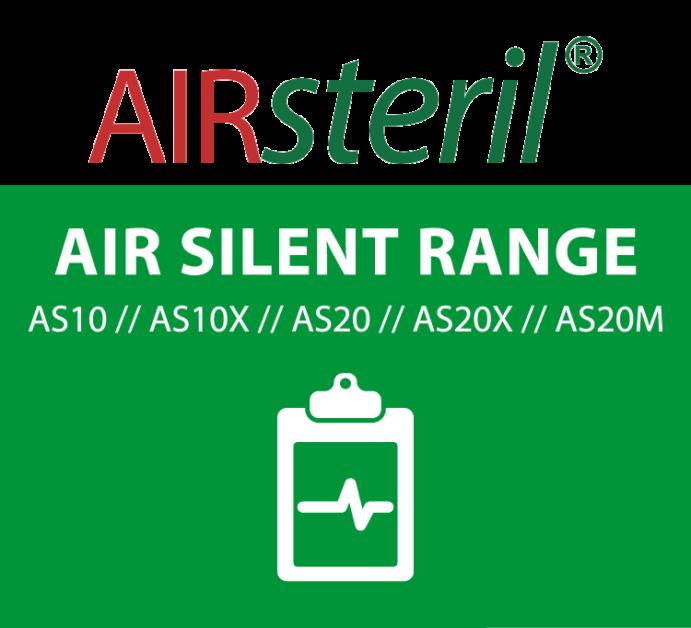 airsteril as10 air silent range mobile banner