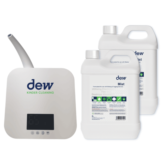 dew cleaning & sanitising products