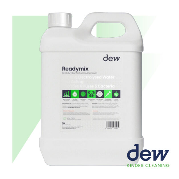 dew readymix-blue-refill-5l-for-sanitising-products
